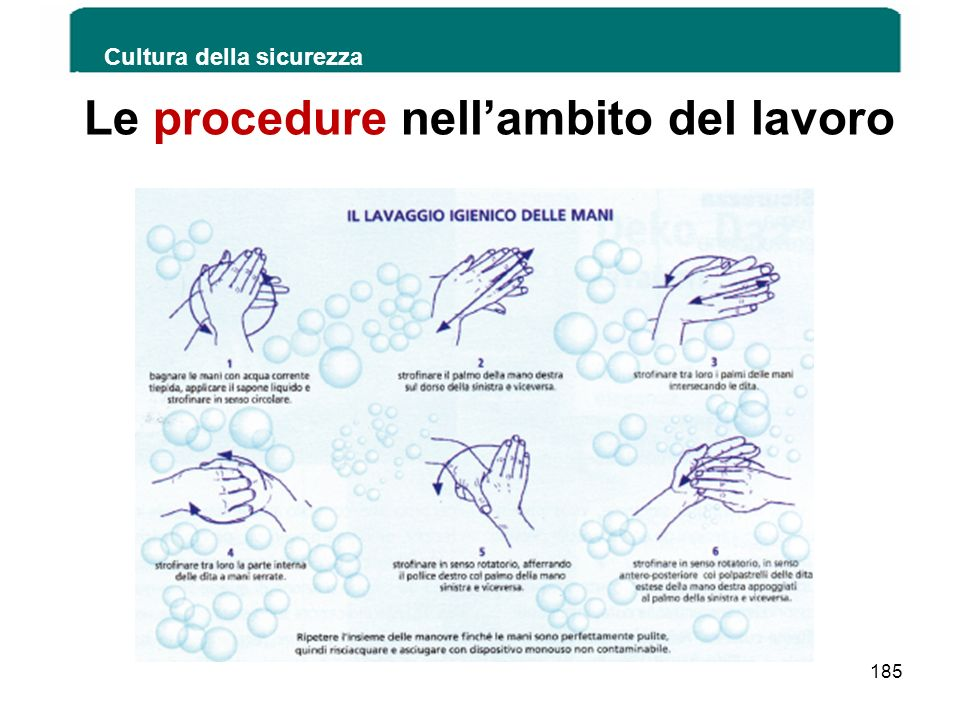 Le procedure nell'ambito del lavoro