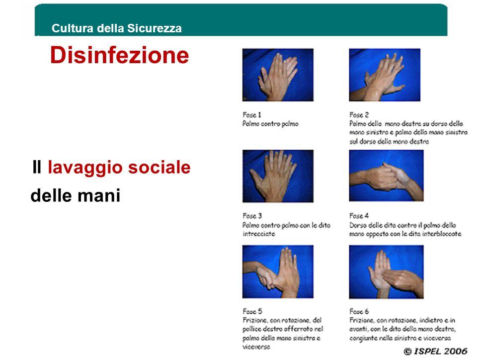 Il lavaggio sociale delle mani