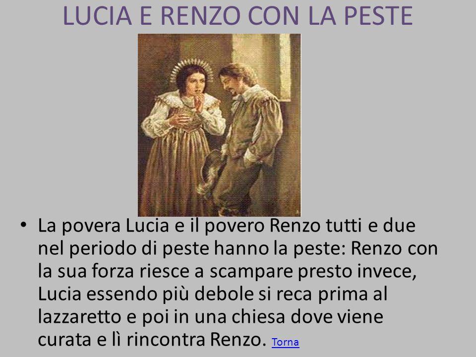LUCIA E RENZO CON LA PESTE