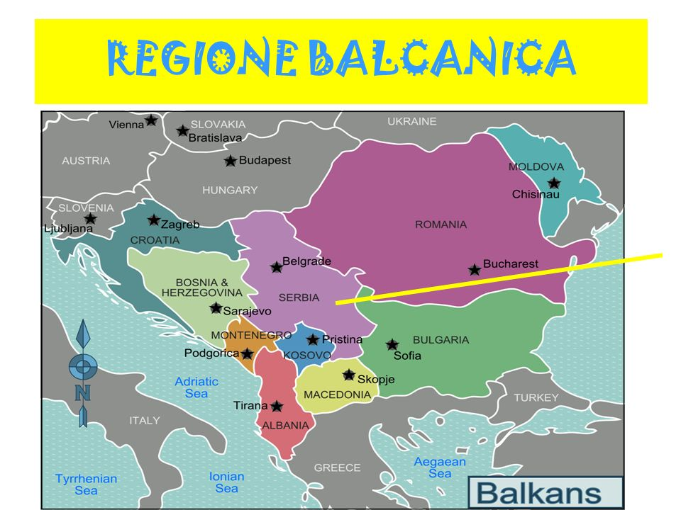 REGIONE BALCANICA