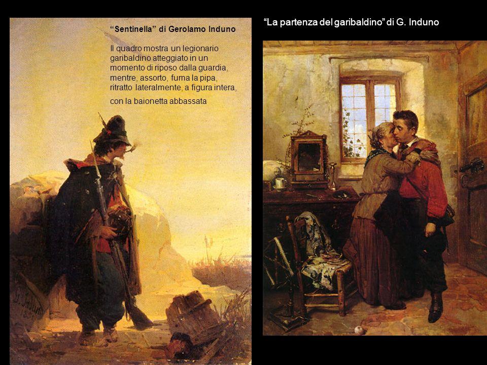 La partenza del garibaldino di G. Induno