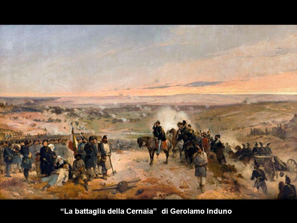 La battaglia della Cernaia di Gerolamo Induno
