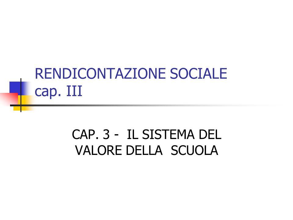 RENDICONTAZIONE SOCIALE cap. III