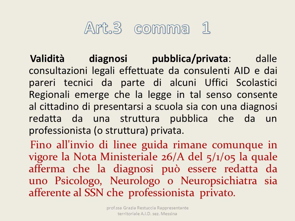 Art.3 comma 1