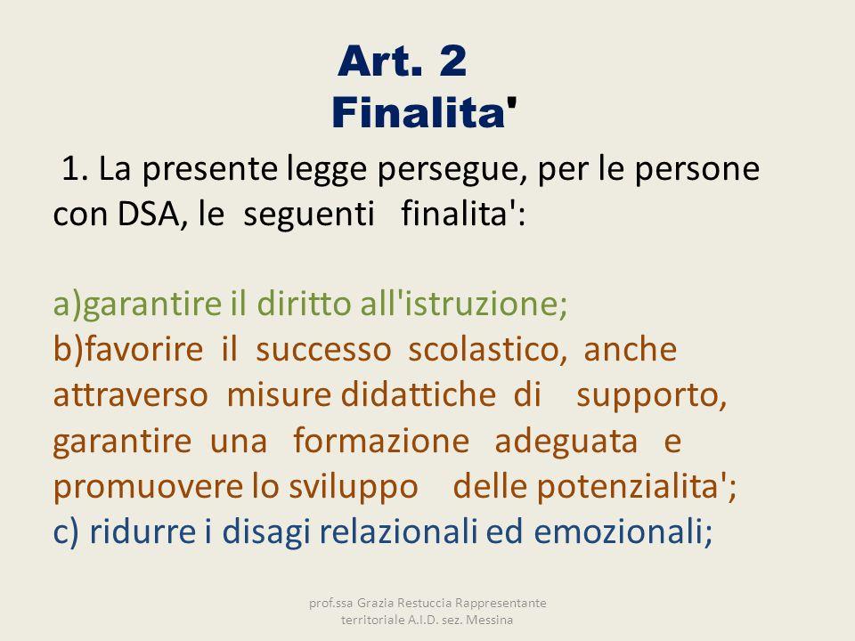 Art. 2 Finalita