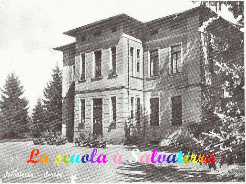 La scuola a Salvaterra