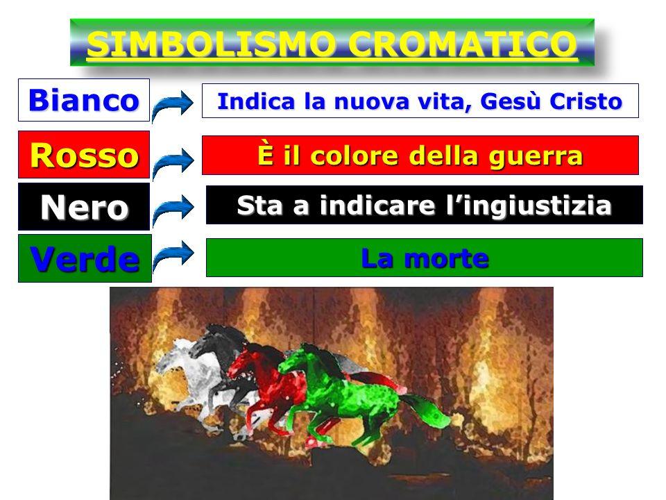 SIMBOLISMO CROMATICO Rosso Nero Verde