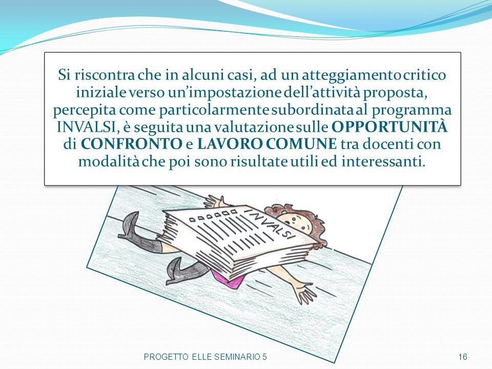 PROGETTO ELLE SEMINARIO 5