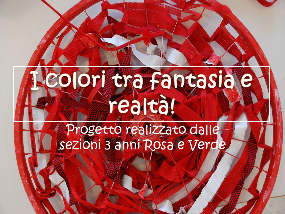 I colori tra fantasia e realtà!