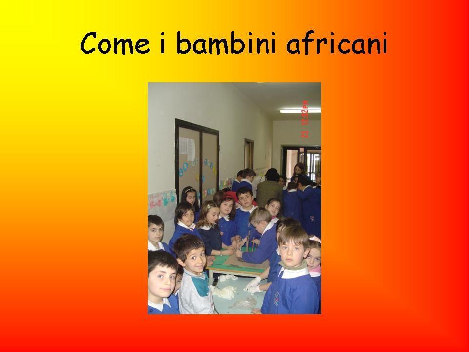 Come i bambini africani
