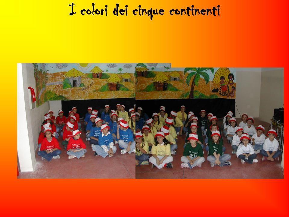I colori dei cinque continenti