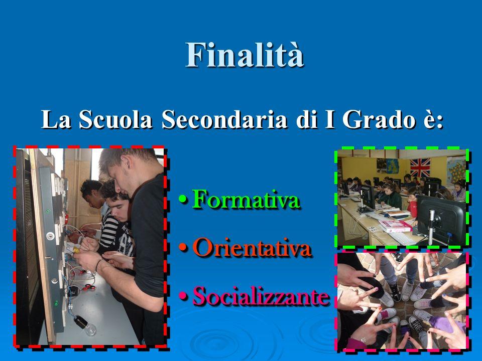 La Scuola Secondaria di I Grado è:
