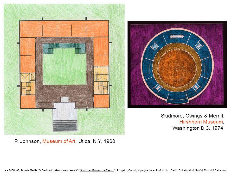 Skidmore, Owings & Merrill, Hirshhorn Museum, Washington D.C.,1974