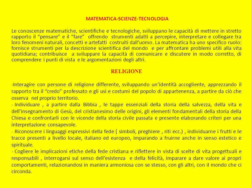 MATEMATICA-SCIENZE-TECNOLOGIA