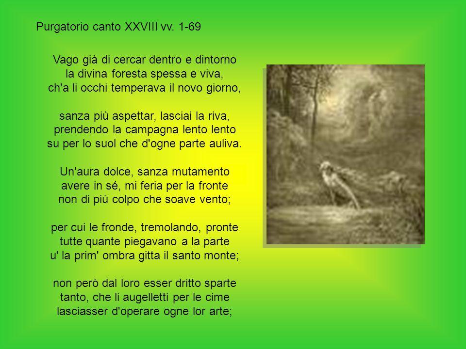 Purgatorio canto XXVIII vv. 1-69