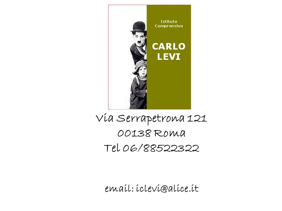 Via Serrapetrona 121 00138 Roma Tel 06/88522322