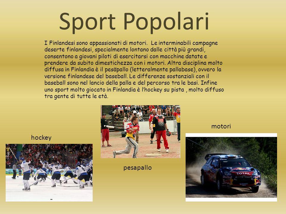 Sport Popolari motori hockey pesapallo