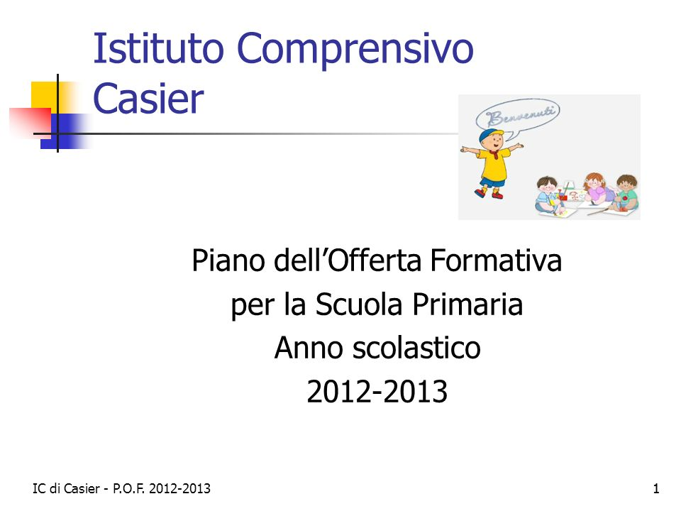 Istituto Comprensivo Casier