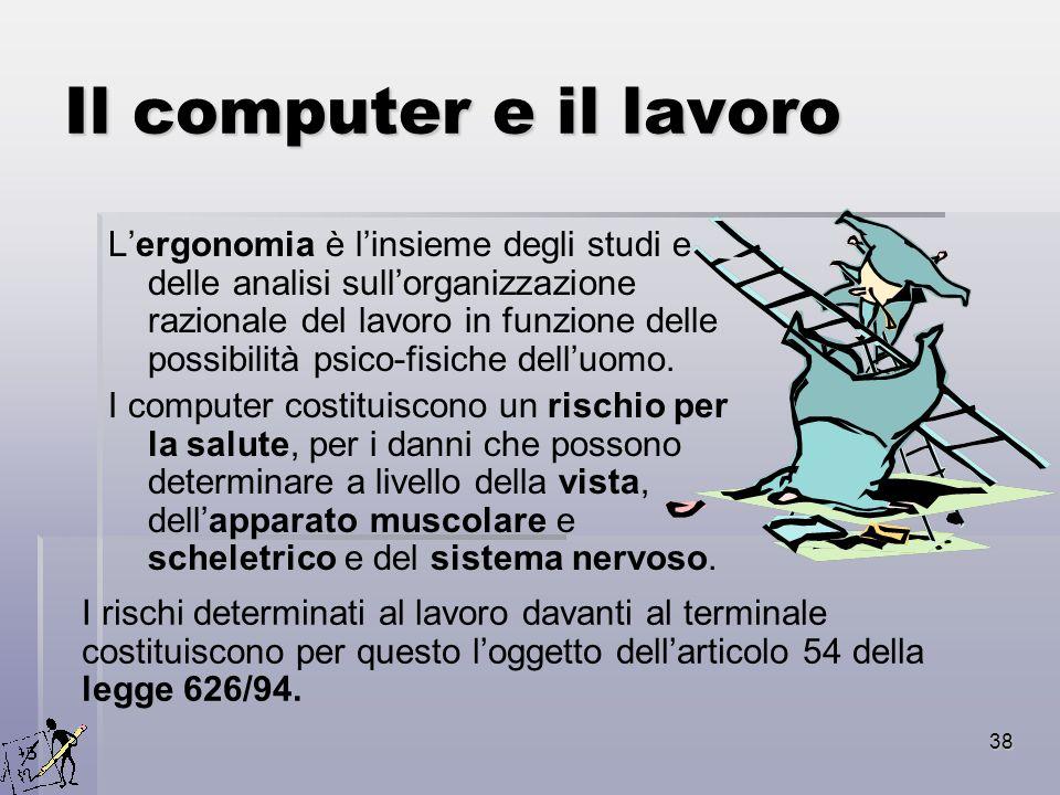 Il computer e il lavoro