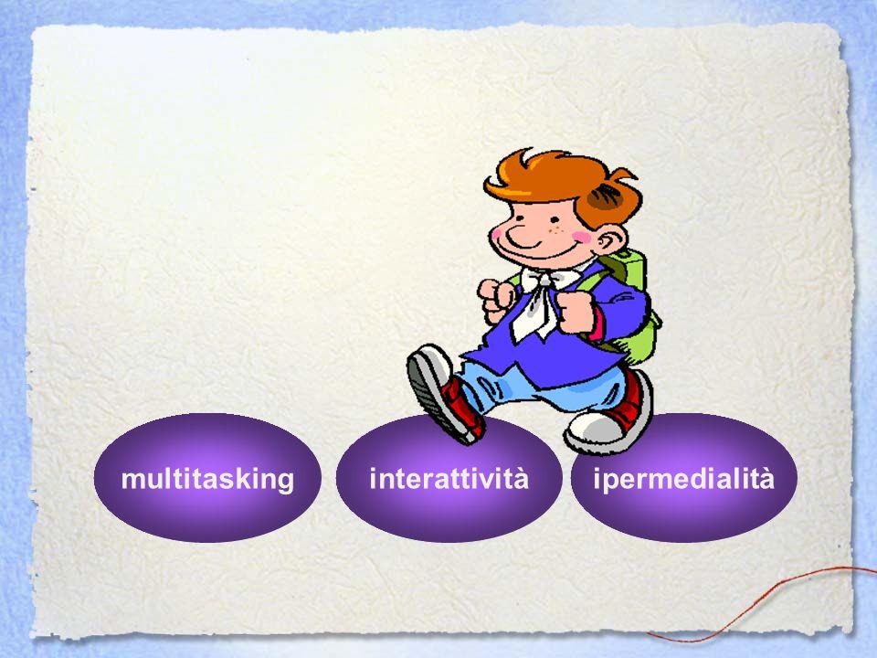 multitasking interattività ipermedialità