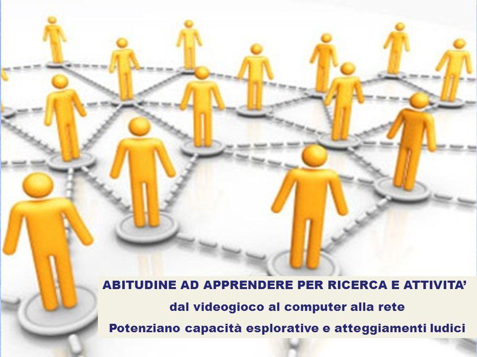 ABITUDINE AD APPRENDERE PER RICERCA E ATTIVITA'