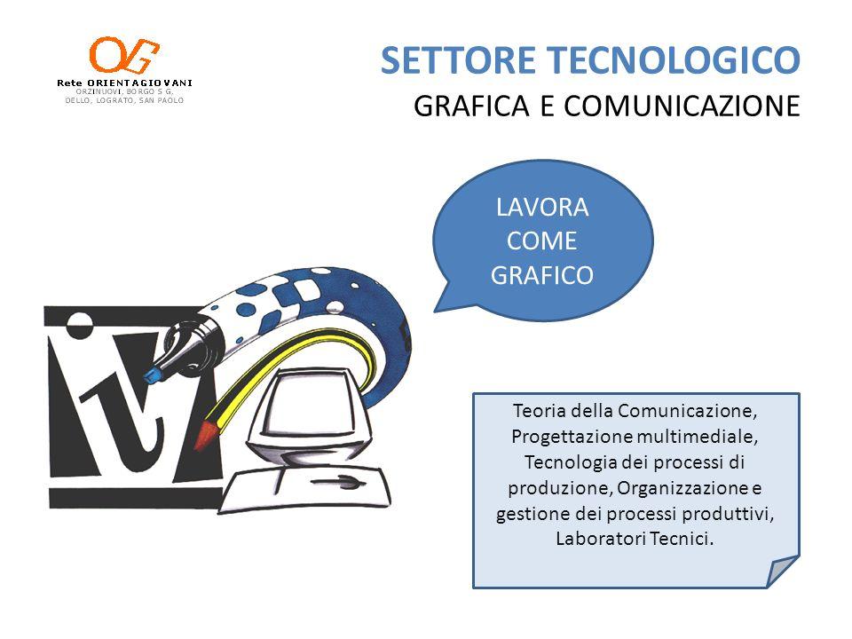 SETTORE TECNOLOGICO GRAFICA E COMUNICAZIONE