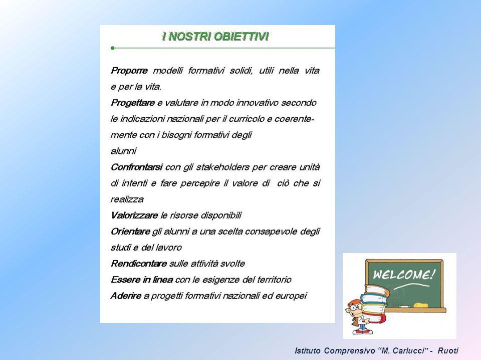 Istituto Comprensivo M. Carlucci - Ruoti
