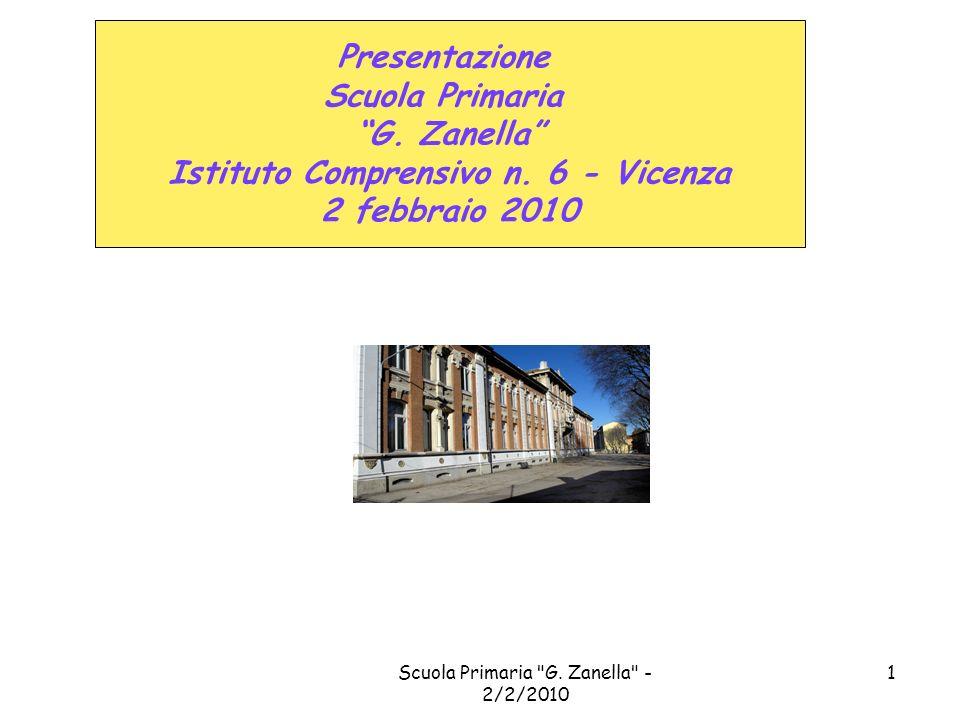 Presentazione Scuola Primaria G. Zanella