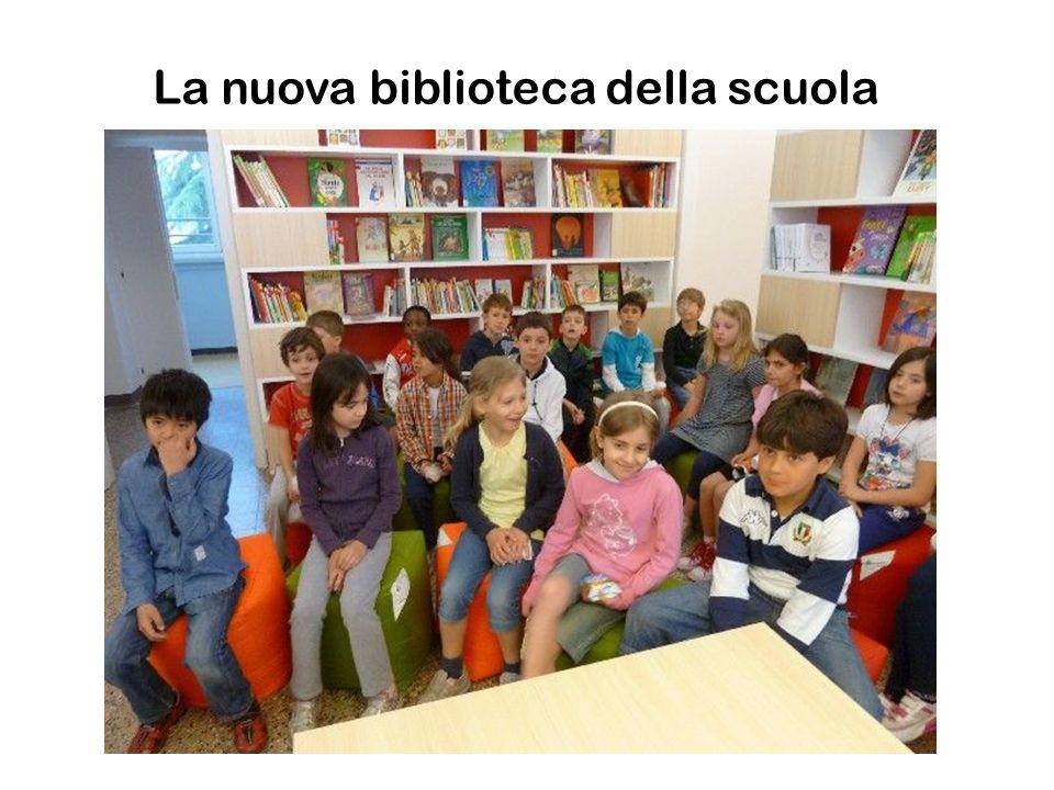 La nuova biblioteca della scuola
