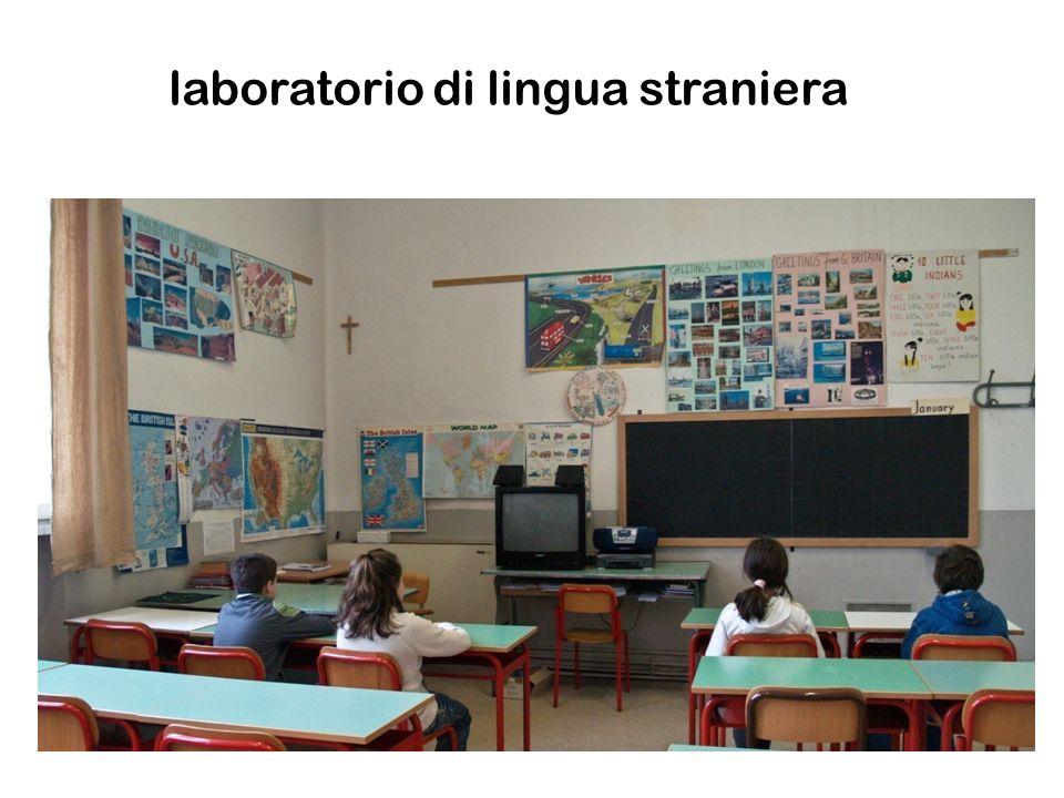 laboratorio di lingua straniera