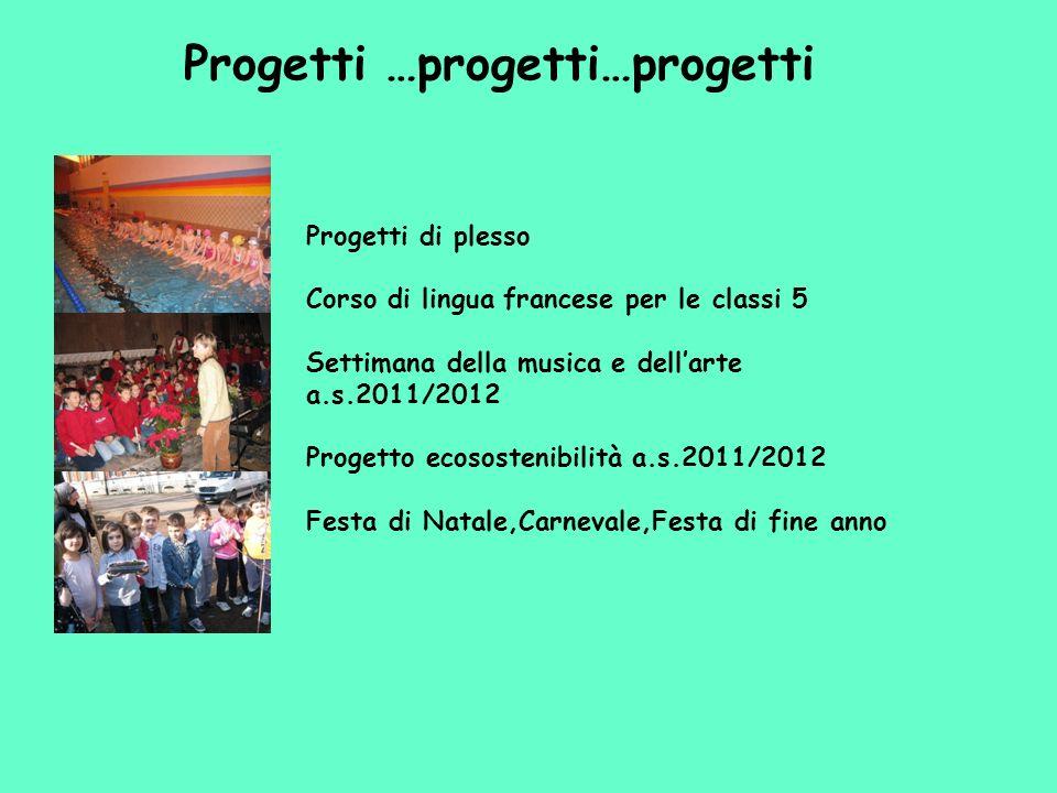Progetti …progetti…progetti
