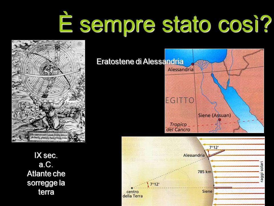 IX sec. a.C. Atlante che sorregge la terra