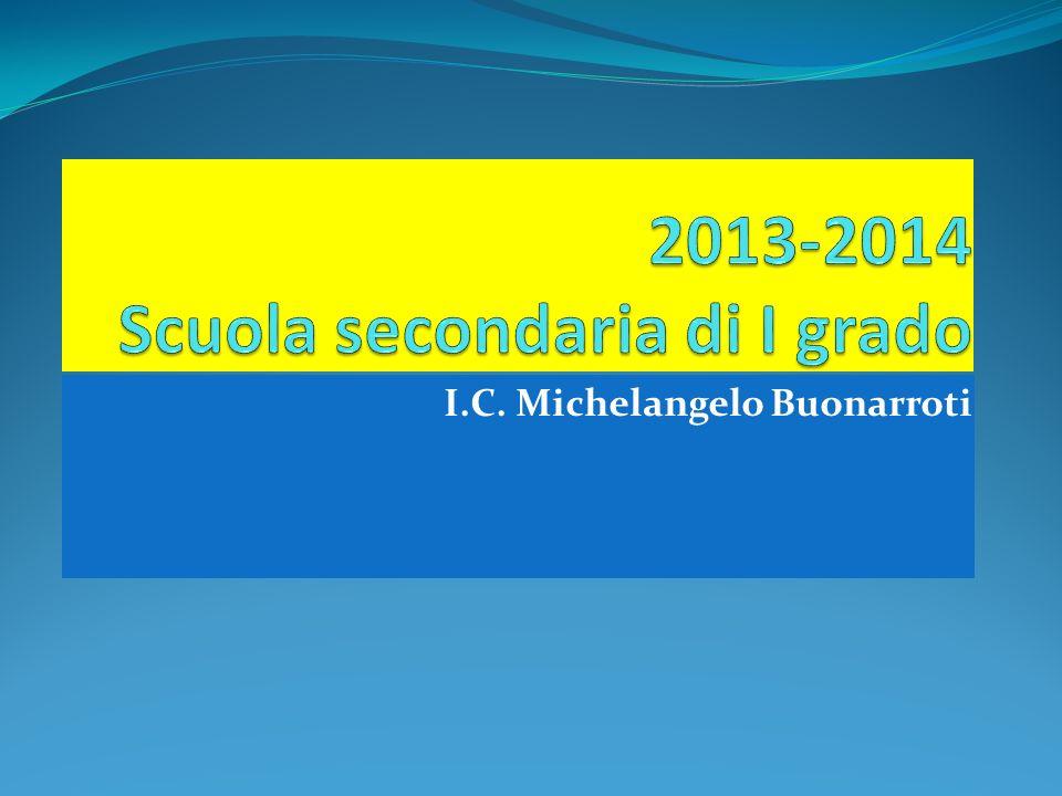 2013-2014 Scuola secondaria di I grado