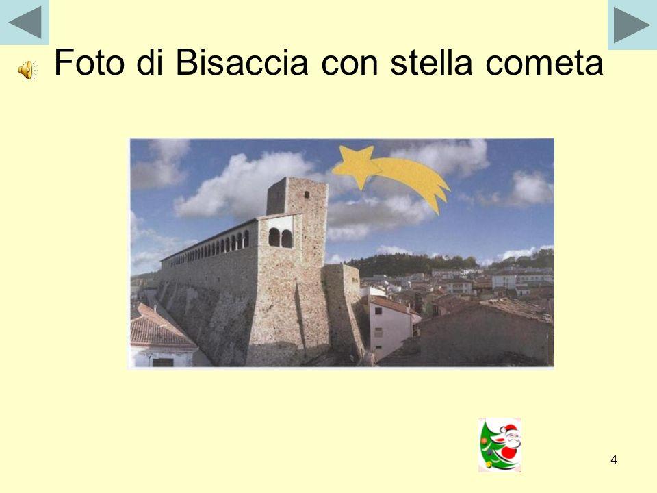 Foto di Bisaccia con stella cometa