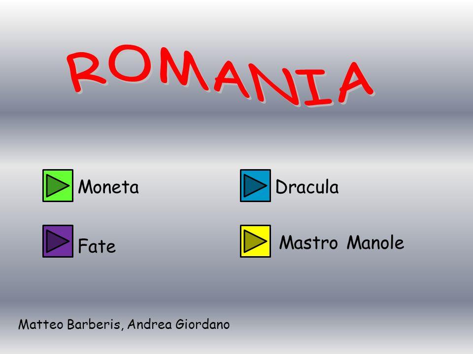 ROMANIA Moneta Dracula Mastro Manole Fate