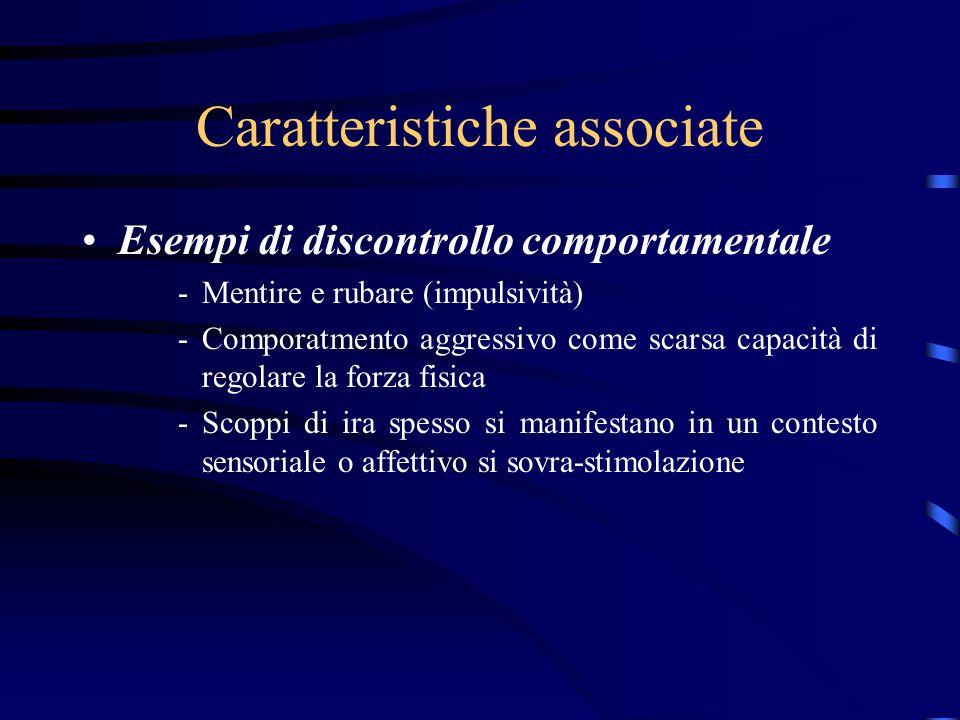 Caratteristiche associate