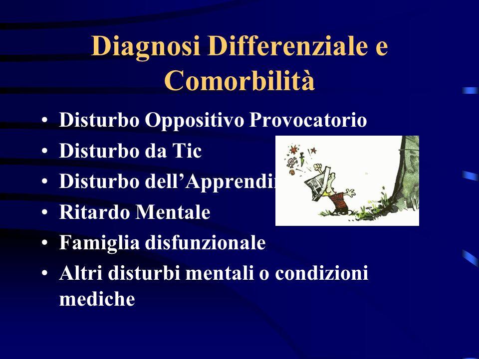 Diagnosi Differenziale e Comorbilità