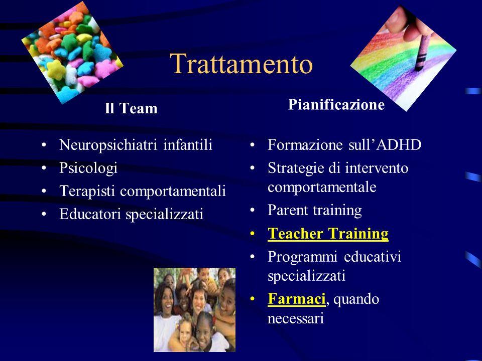 Trattamento Pianificazione Il Team Neuropsichiatri infantili Psicologi