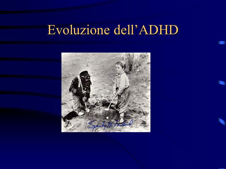 Evoluzione dell'ADHD