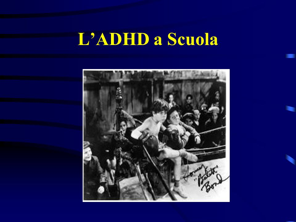 L'ADHD a Scuola
