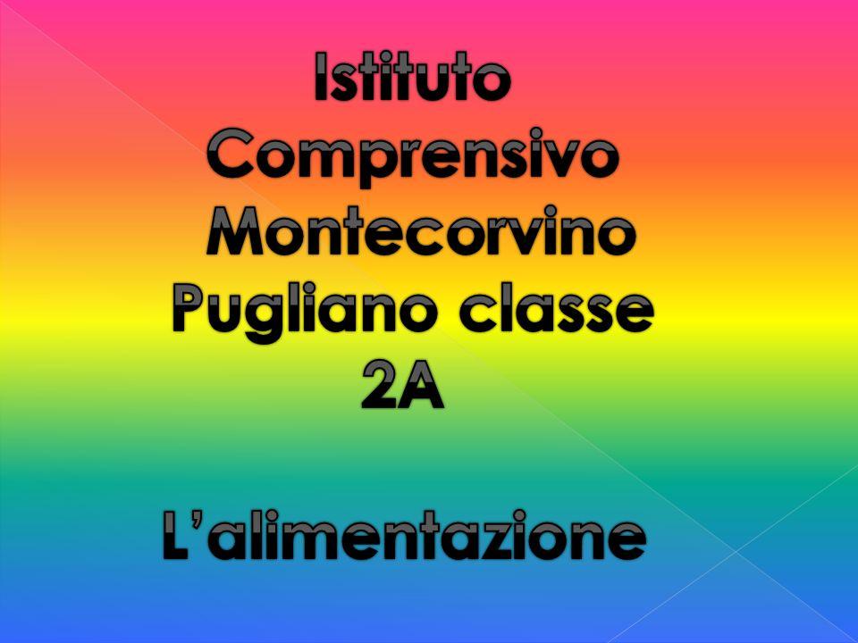 Istituto Comprensivo Montecorvino Pugliano classe 2A L'alimentazione