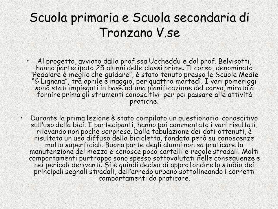 Scuola primaria e Scuola secondaria di Tronzano V.se
