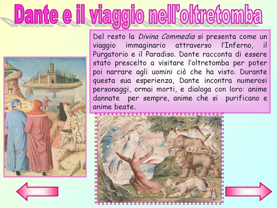 Dante e il viaggio nell oltretomba