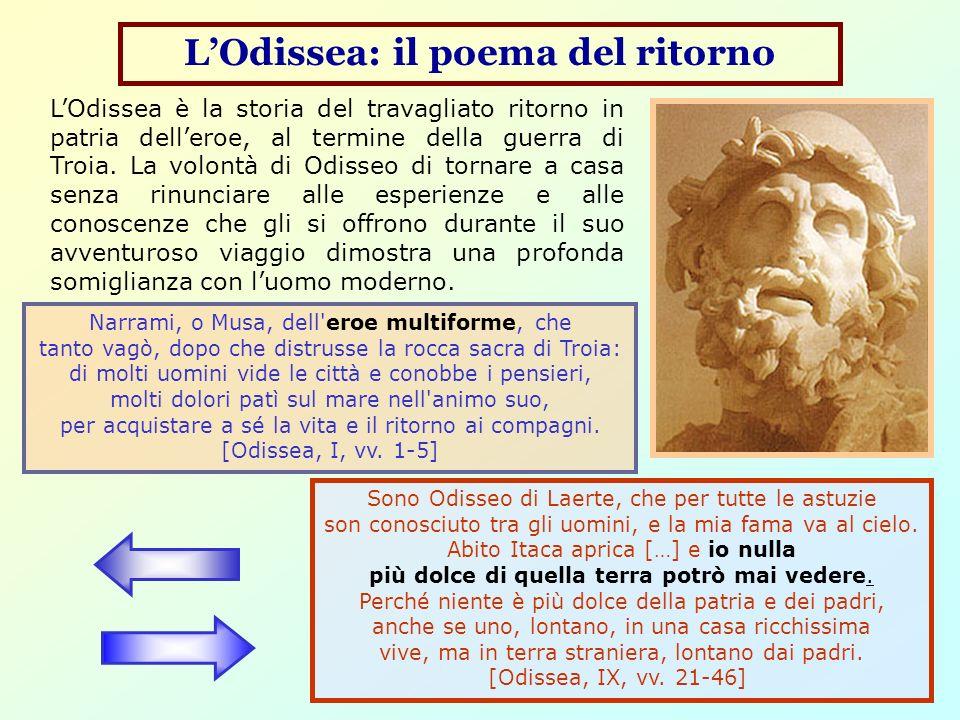 L'Odissea: il poema del ritorno
