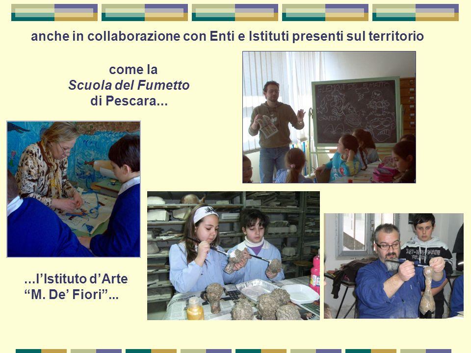 Scuola del Fumetto di Pescara... M. De' Fiori ...