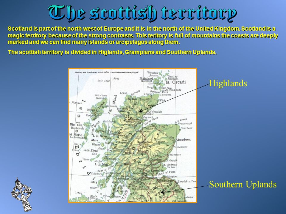The scottish territory