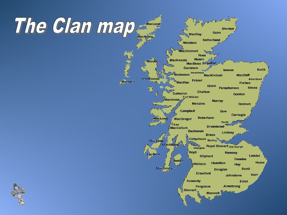 The Clan map