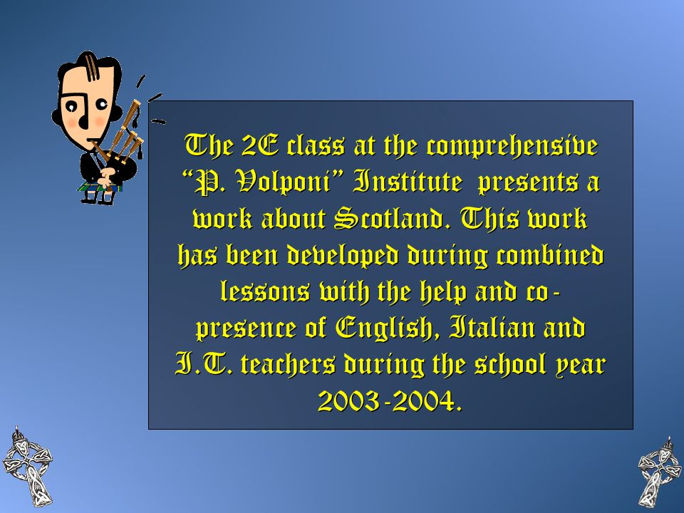 The 2E class at the comprehensive P