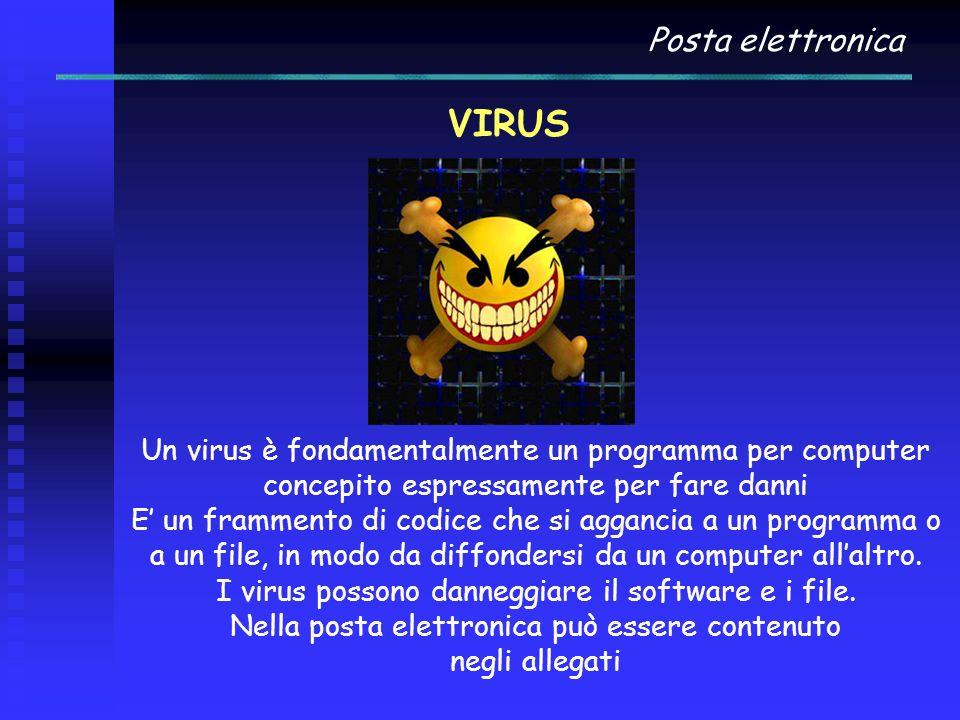 VIRUS Posta elettronica