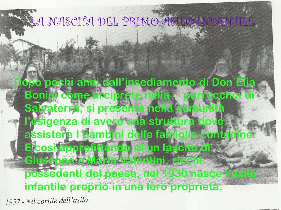 LA NASCITA DEL PRIMO ASILO INFANTILE